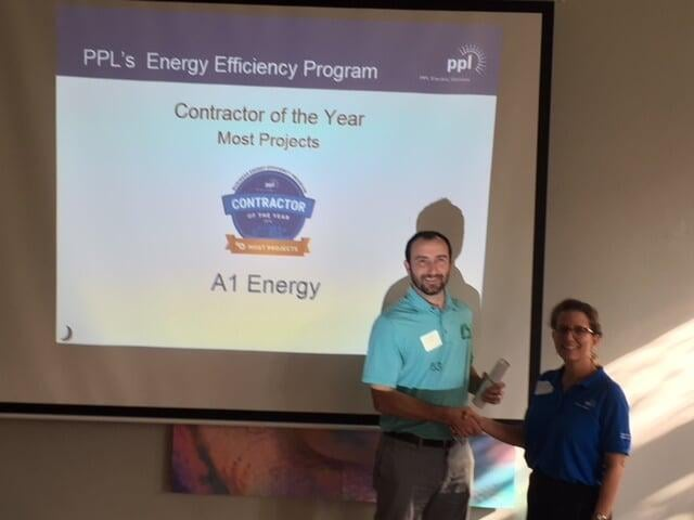 A1 Energy awarded contractor of the year
