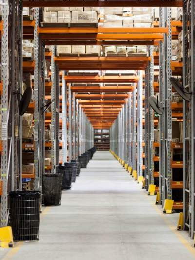 Warehouse energy management and lighting